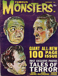 FAMOUS MONSTERS OF FILMLAND #19 特価