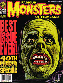 FAMOUS MONSTERS OF FILMLAND #221