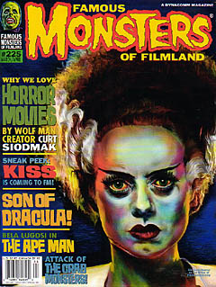 FAMOUS MONSTERS OF FILMLAND #225