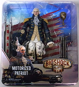 NECA PLAYER SELECT BIOSHOCK INFINITE 9インチアクションフィギュア MOTORIZED PATRIOT