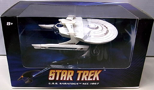 MATTEL HOT WHEELS STAR TREK 1/50スケール U.S.S. SARATOGA NCC-1867