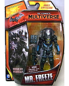 MATTEL DC COMICS MULTIVERSE 4インチアクションフィギュア BATMAN: ARKHAM CITY MR. FREEZE