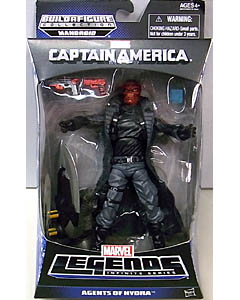 HASBRO MARVEL LEGENDS 2014 INFINITE SERIES CAPTAIN AMERICA AGENTS OF HYDRA RED SKULL