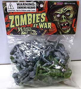 EMCE TOYS ZOMBIES AT WAR 35PACK [PREVIEWS EXCLUSIVE]