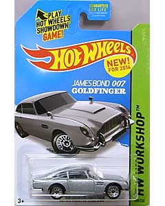 MATTEL HOT WHEELS 1/64スケール 2014 HW WORKSHOP JAMES BOND 007 GOLDFINGER ASTON MARTIN 1963 DB5