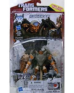HASBRO TRANSFORMERS GENERATIONS DELUXE CLASS RATTRAP [COMIC BOOK INCLUDED]