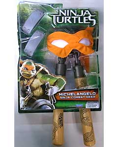 PLAYMATES 映画版 NINJA TURTLES NINJA COMBAT GEAR MICHELANGELO