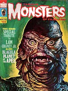 FAMOUS MONSTERS OF FILMLAND #103