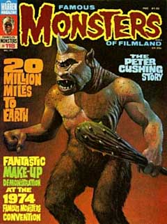 FAMOUS MONSTERS OF FILMLAND #118