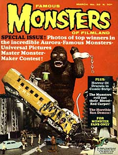 FAMOUS MONSTERS OF FILMLAND #32