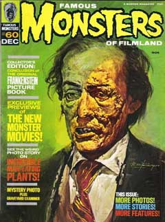 FAMOUS MONSTERS OF FILMLAND #60