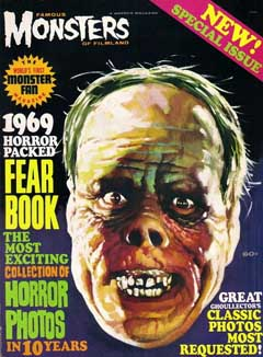 FAMOUS MONSTERS OF FILMLAND 1969 YEARBOOK