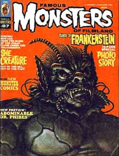 FAMOUS MONSTERS OF FILMLAND #87