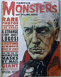 FAMOUS MONSTERS OF FILMLAND #9 特価