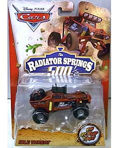 MATTEL CARS 2014 THE RADIATOR SPRINGS 500 1/2 シングル IDLE THREAT