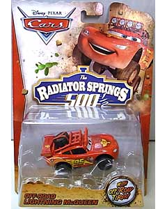 MATTEL CARS 2014 THE RADIATOR SPRINGS 500 1/2 シングル OFF-ROAD LIGHTNING McQUEEN ブリスター傷み特価