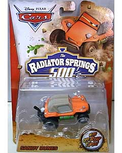 MATTEL CARS 2014 THE RADIATOR SPRINGS 500 1/2 シングル SANDY DUNES 台紙傷み特価