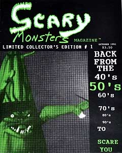 SCARY MONSTERS MAGAZINE #1