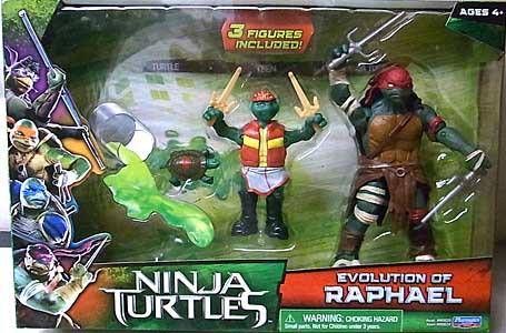 PLAYMATES 映画版 NINJA TURTLES EVOLUTION OF RAPHAEL