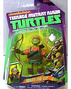 PLAYMATES NICKELODEON TEENAGE MUTANT NINJA TURTLES ベーシックフィギュア MIKEY THE ELF