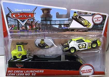 MATTEL CARS 2014 PIT CREW LAUNCHERS LEAK LESS NO.52 台紙傷み特価