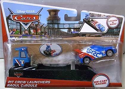 MATTEL CARS 2014 PIT CREW LAUNCHERS RAOUL CAROULE 台紙傷み特価