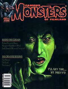 FAMOUS MONSTERS OF FILMLAND #266 [THE WIZARD OF OZ COVER] 表紙傷み特価
