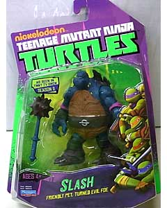 PLAYMATES NICKELODEON TEENAGE MUTANT NINJA TURTLES ベーシックフィギュア SLASH