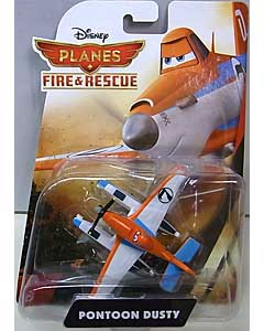 MATTEL PLANES 2 FIRE & RESCUE シングル PONTOON DUSTY 台紙傷み特価