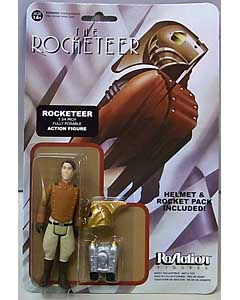 FUNKO x SUPER 7 REACTION FIGURES 3.75インチアクションフィギュア THE ROCKETEER ROCKETEER