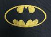 BAT MAN/ LOGO /バットマン ロゴ BLACK