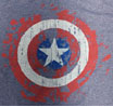 CAPTAIN AMERICA/キャプテンアメリカ /ロゴ(グレー)