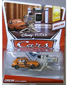 MATTEL CARS 2013 DELUXE GREM WITH CAMERA 台紙傷み特価