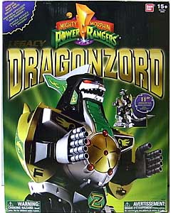 USA BANDAI POWER RANGERS MIGHTY MORPHIN LEGACY DRAGONZORD