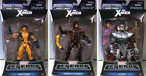 HASBRO MARVEL LEGENDS 2014 INFINITE SERIES X-MEN 3種セット [国内版]