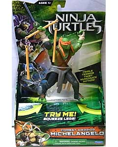 PLAYMATES 映画版 NINJA TURTLES COMBAT WARRIOR MICHELANGELO