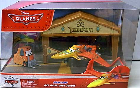 MATTEL PLANES PIT ROW GIFT PACK ISHANI