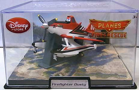 PLANES 2 FIRE & RESCUE USAディズニーストア限定 ダイキャストミニプレーン FIREFIGHTER DUSTY