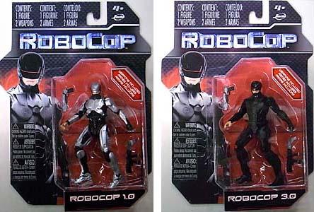 JADA TOYS ROBOCOP [2014] 4インチアクションフィギュア ROBOCOP 1.0 & ROBOCOP 3.0 2種セット [国内版]