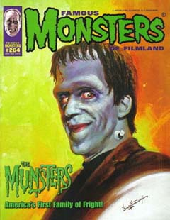 FAMOUS MONSTERS OF FILMLAND #264 [THE MUNSTERS COVER]
