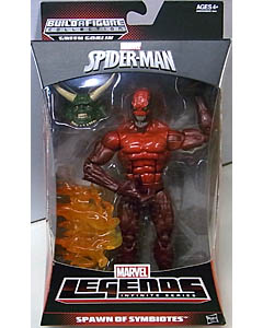 HASBRO MARVEL LEGENDS 2014 INFINITE SERIES SPIDER-MAN SPAWN OF SYMBIOTES TOXIN [VARIANT]