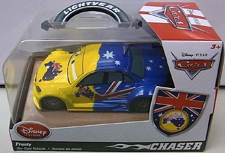 CARS 2014 USAディズニーストア限定 ダイキャストミニカー CHASER FROSTY