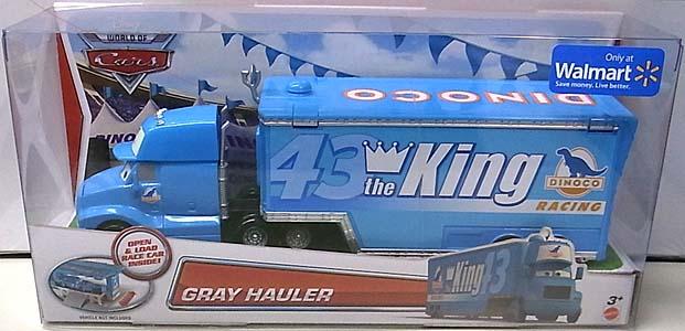 MATTEL CARS 2014 HAULER GRAY HAULER パッケージ傷み特価