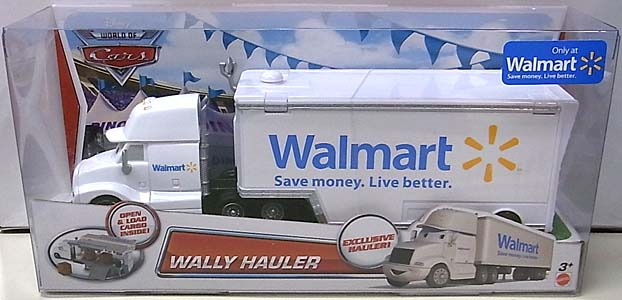 MATTEL CARS 2014 HAULER WALLY HAULER