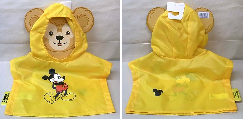 DISNEY USAディズニーテーマパーク限定 DUFFY THE DISNEY BEAR COSTUME [RAIN PONCHO]