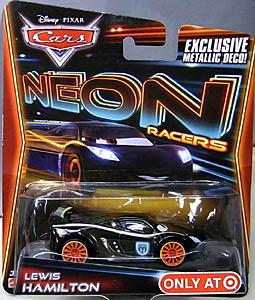 MATTEL CARS 2014 NEON RACERS シングル LEWIS HAMILTON