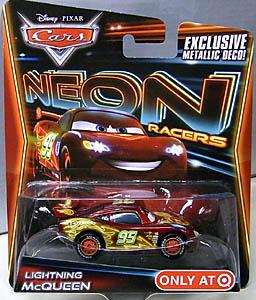 MATTEL CARS 2014 NEON RACERS シングル LIGHTNING McQUEEN
