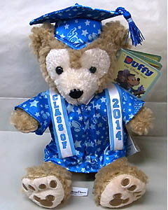 DISNEY USAディズニーテーマパーク限定 DUFFY THE DISNEY BEAR 12INCH DUFFY THE DISNEY BEAR GRADUATION 2014