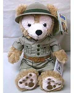 DISNEY USAディズニーテーマパーク限定 DUFFY THE DISNEY BEAR 12INCH SAFARI DUFFY THE DISNEY BEAR