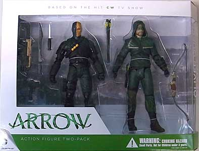 DC COLLECTIBLES ARROW OLIVER QUEEN & DEATHSTROKE 2-PACK